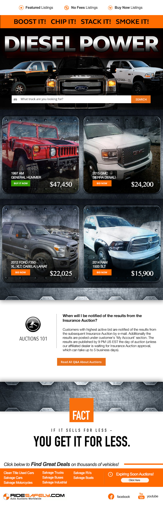 Trucks Auction